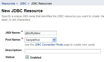 jdbc resource